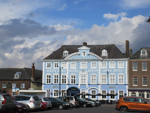 Duke's Head Hotel, Tuesday Market Place, King's Lynn, Norfolk