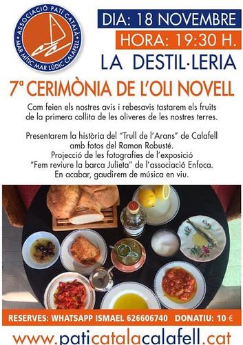 Cerimònia de l'Oli Novell