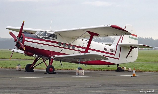 HA-ANG | Antonov An-2P.