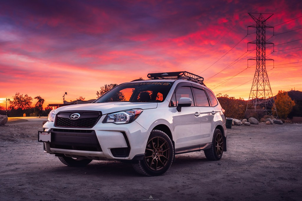Subaru and Sunsets | Forester XT Nikon D500 w/16-80 www inst… | Flickr
