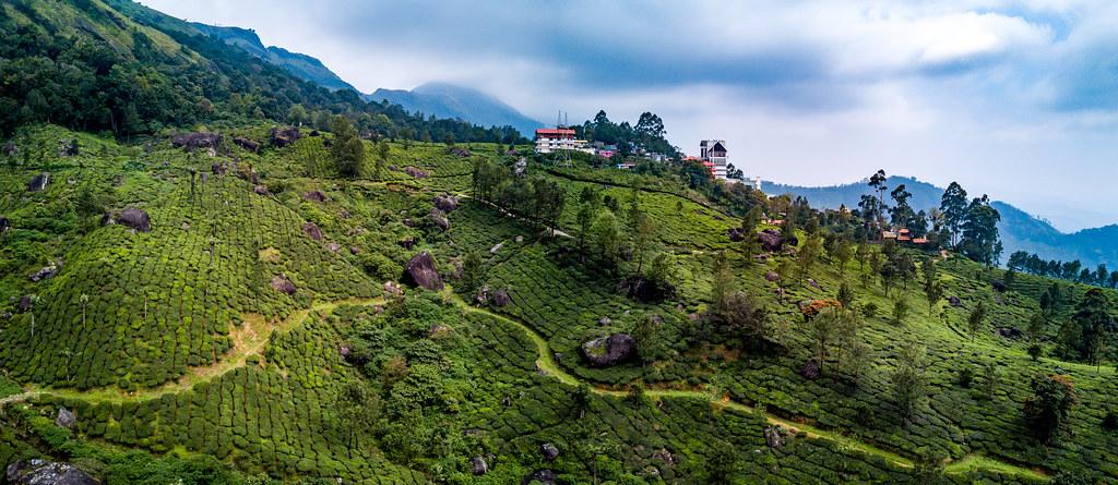 Munnar drone aerial, India | Munnar drone aerial, India | Flickr