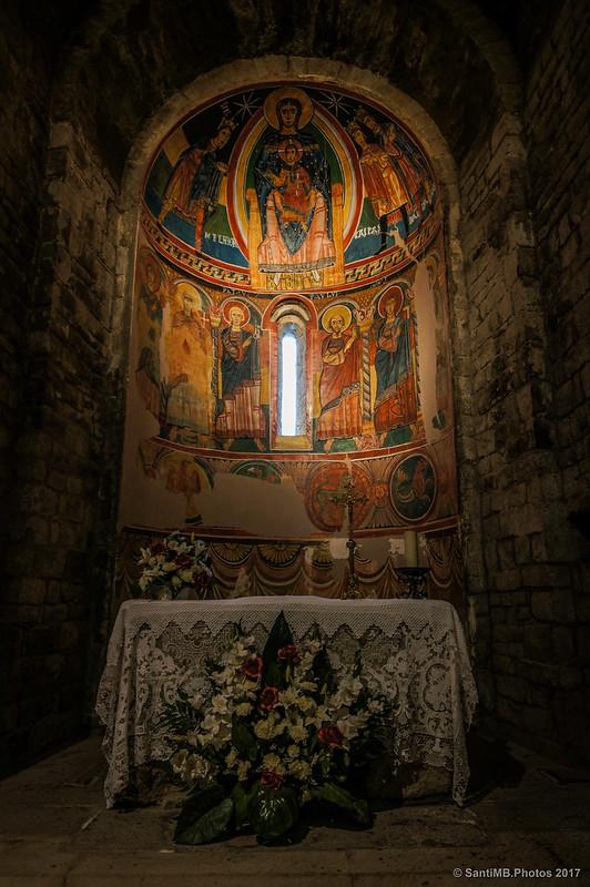 Pinturas murales en el ábside de Santa Maria de Taüll