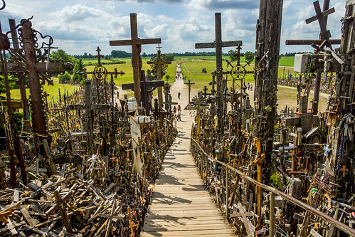 hillofcrosses catholic pilgrimage šiauliai lithuania russellscottimages