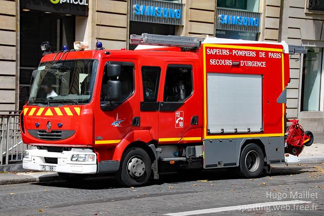 BSPP | Renault Midlum 220