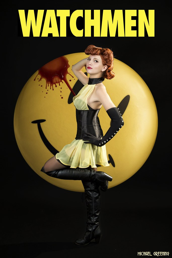 44107dba7 Who Watches the Watchmen... | Harley Kat Cosplay brings Sall… | Flickr