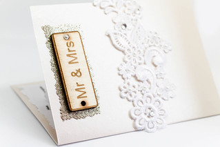 Mr. and Mrs. Sign on the wedding invitation | by wuestenigel