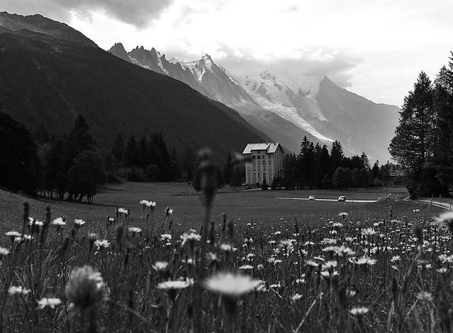 Hotel de montaña.