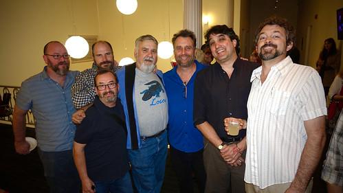 Dale Gunnoe, Scott Borne, Ron Phillips, AJ Rodrigue, George Ingmire, David Kunian, Andrew Grafe. Photo by Tom Roche.