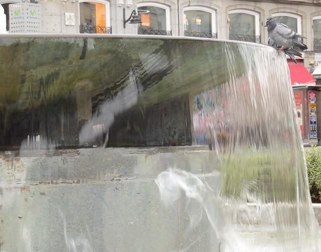 Fountain in the Puerta del Sol