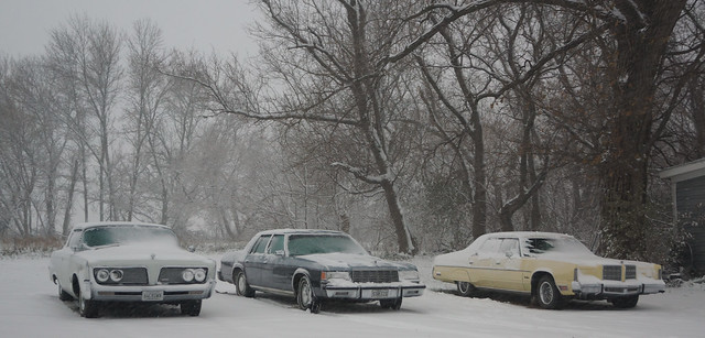 1964 Imperial Crown Coupe  & 1980 Dodge St.Regis & 1978 Chrysler New Yorker Brougham