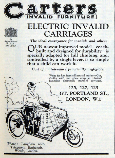 1931 Carters Electric Invalid Carraige