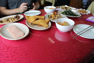 Lunch in a North Korean restaurant car   by Timon91