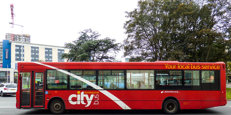 Plymouth Citybus 046 Y646NYD