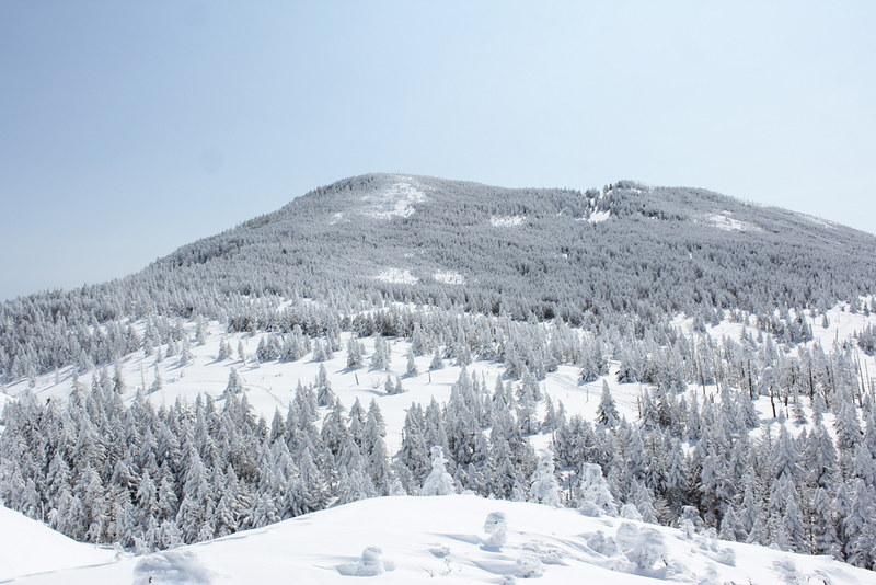 冬の北横岳
