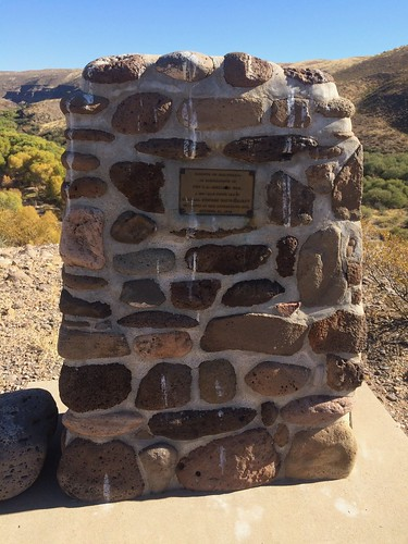 Gila Box Riverview Campground monument | by Pierre Yeremian