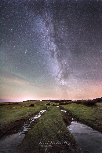 stars night milkyway common track