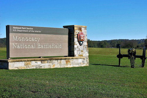 Monocacy NB ~ entrance to the VC