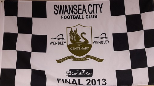 Flag from 2013 Capital Cup Final