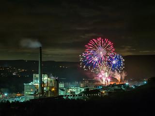 Hope Cement Firework displey