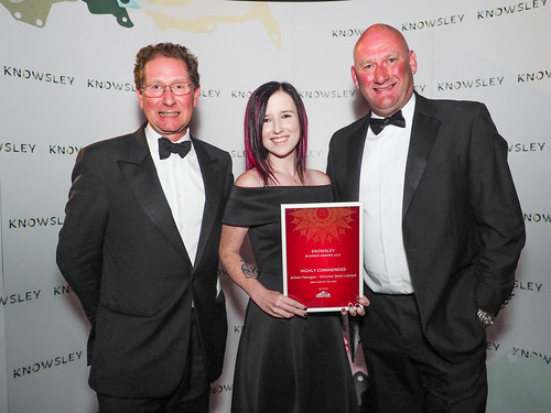 Employee of the Year Highly Commended - Aimee Flanagan, Structec (NW) Limited   by Knowsley Council