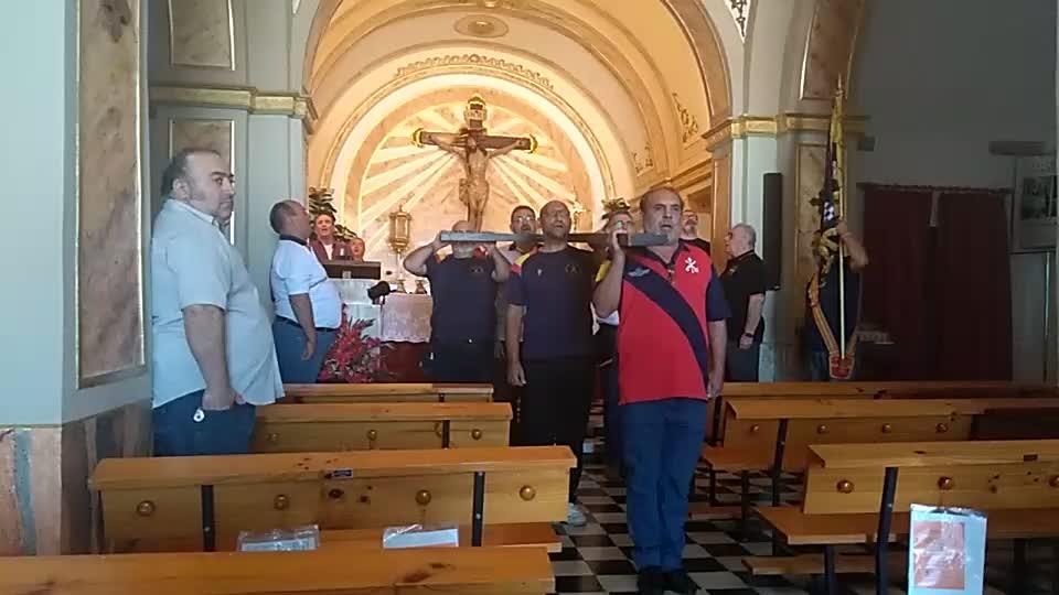 ElCristo - Actos - Ensayo Eucaristia Legionaria - (2017-10-21) - Video José Vicente Romero