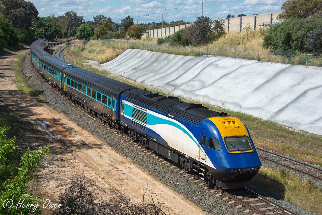 ST23 into Albury by Henry Owen