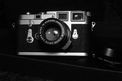 Leica M3 DS ELC C seal, Summicron 50 ELC. | by Ko.Fe.