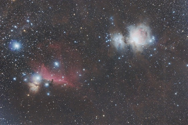 3 Hours of Orion's Belt and Sword from Bortle 4