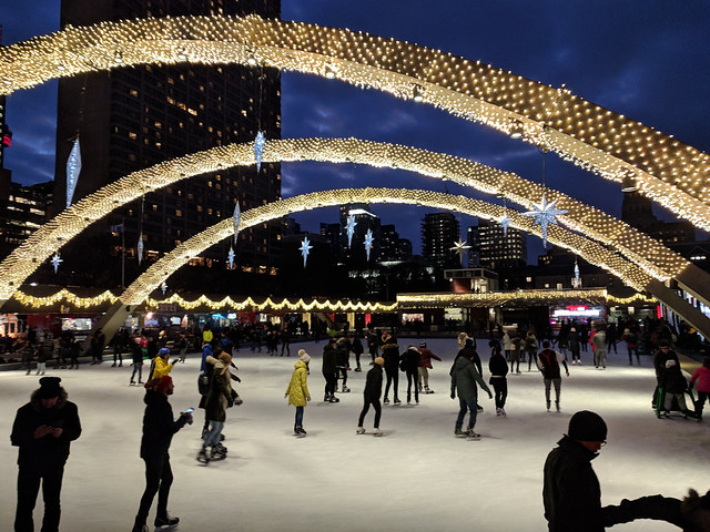 Nathan Phillips Square Skating (Explored)