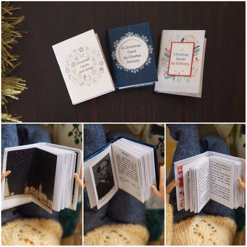 Miniature book for Christmas 2 | by GreenEyes87)