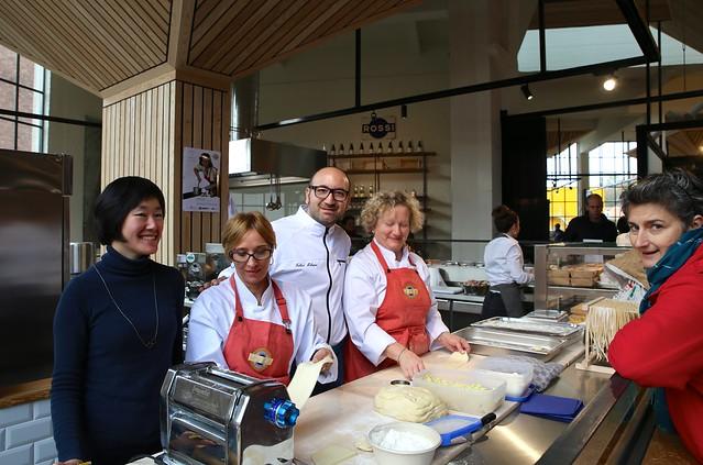 Opening Rossi Pasta Atelier @De Smidse - Leuven (18/11/2017)