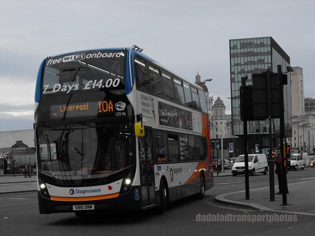 Stagecoach SN16ONM.