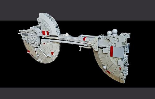 rebels concept spaceship repair kitbash