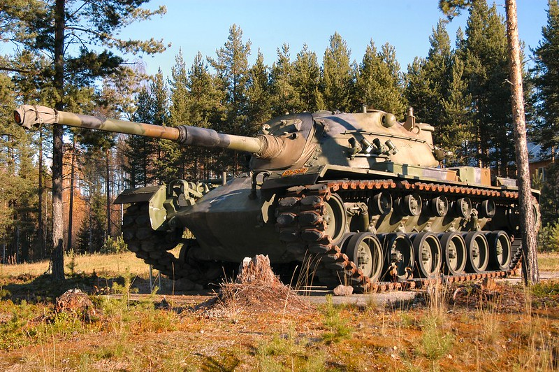 M48A5 Norwegian  1