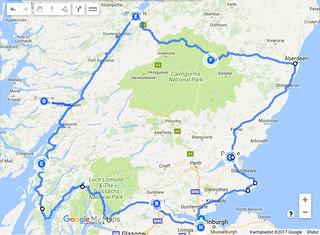 Skotlanti Kartta Anna Koskela Flickr