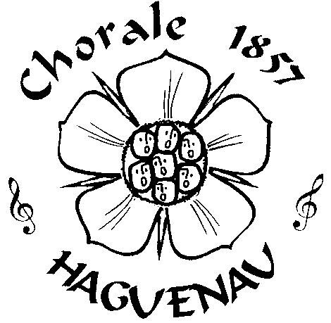 logo chorale 1857 haguenau