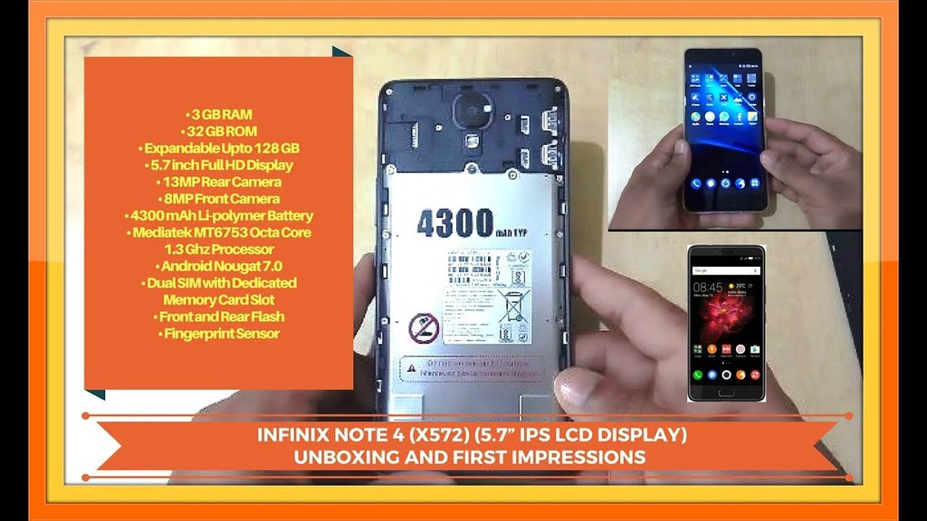 """INFINIX NOTE 4 (X 572) 