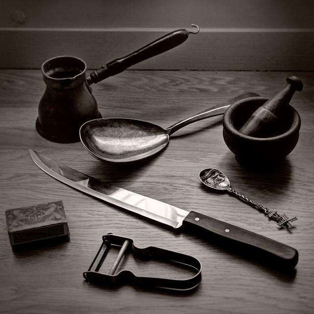 Old kitchen stuff
