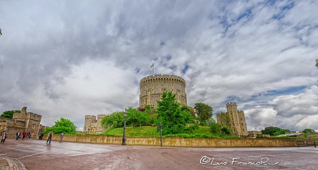 Windsor castle  The Round Tower