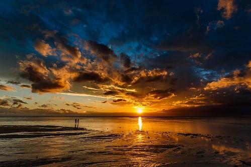 beach flicenflac ilemaurice mauritius sonnenuntergang strand sunset rivièrenoiredistrict mu
