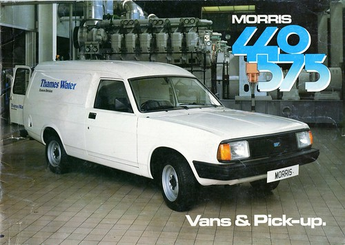 Morris Ital 440 and 575 Pickup and Van Brochure 1983 (1) | by Trigger's Retro Road Tests!