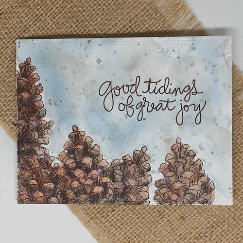 Good tidings of great joy - Christmas card | by Kimberly Toney