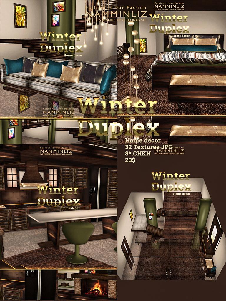 Winter duplex Home decor JPG textures imvu NAMMINLIZ File … | Flickr