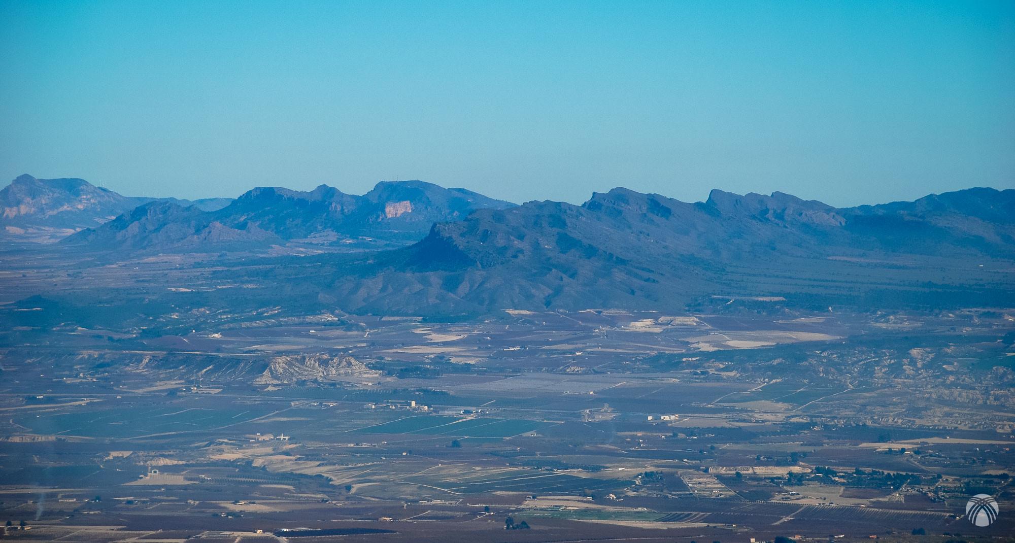 Sierra Larga, Peñarrubia de Jumilla y el Buey