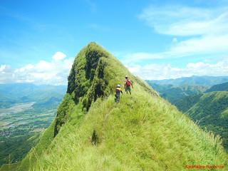 Mt. Igcuron knife edge ridge | by Adrenaline Romance