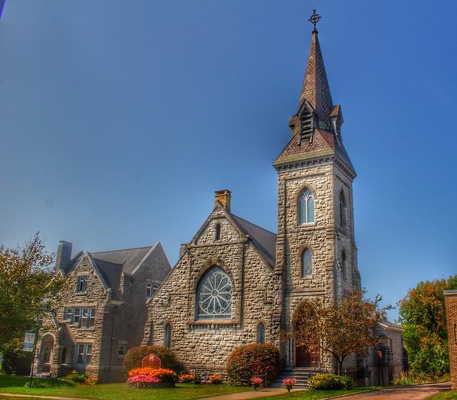 Malone New York - America - St. Mark's Episcopal Church - Historic