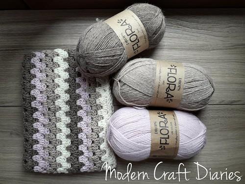 Crochet baby blanket / copertina uncinetto