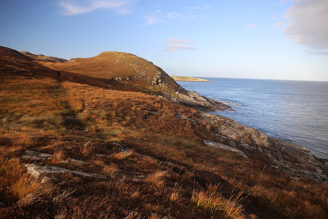 The coast between Port Vasgo and Talmine Bay