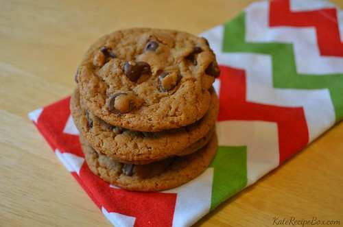 GingerChocolateChipCookies | by katesrecipebox