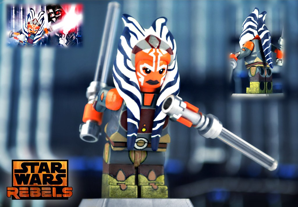 LEGO Star Wars : Ahsoka Tano | As some of you may know, I'm